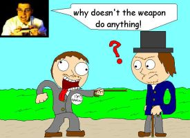 avgn the weapon doesn't work by KCjones707
