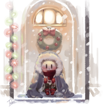 waiting for santa by tabe103