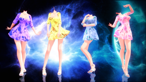 {MMD} Summer Dresses {DL} by HarukaSakurai