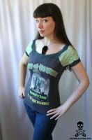 Curse of the Mummy Top by smarmy-clothes
