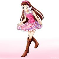 Iori Curtsey by Jeffanime