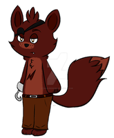 Foxy by Tails-Crossing