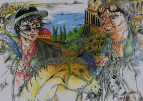 Octave le patron slg et Liev Victorovitch IRL by LievVictorovitch