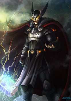 Thor by Serathus
