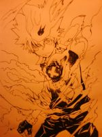 Tsuna super dying will mode by lucie1501