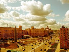 Moscow Spring Day by QueenCleopatra