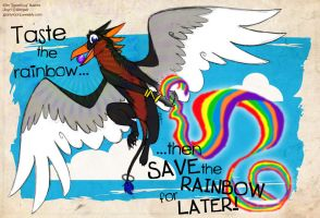 Save the Rainbow for Later by spartydragon