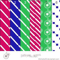 pattern set 4 by 00cheily00