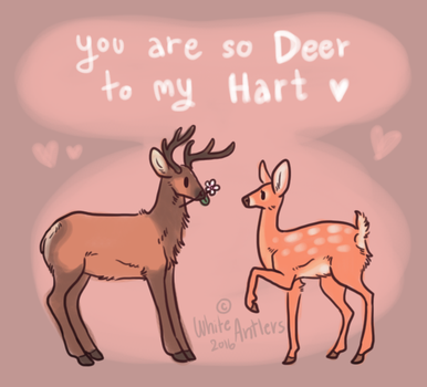 Deer To My Hart by Pimsri