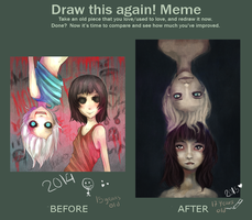Draw This Again Meme Again by Miranduless