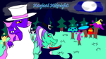 Magical Midnight - Chip and Vivian Battle by dragonOllie15