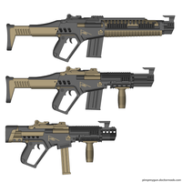 Wasteland Arms AR Pattern - Standard, Assault, SMG by Direrain