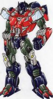 LINKMASTER Optimus Prime: master of the combiners. by kishiaku