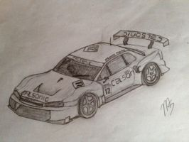Calsonic Race car by MachStyle