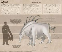Tapok - Species Sheet by Ulario