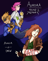 AuroraOCT - Round 2 *MEMORY* Cover Page by AndrewMartinD