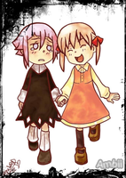 Maka And Crona by ambiicruel