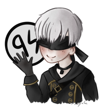 9S -NieR Automata- by someother2002girl