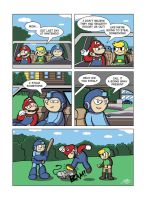 Despondent Mega Man - Bad Days Part 6 by JesseDuRona
