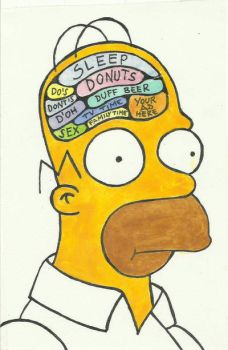 Homer Brain by camaseiz