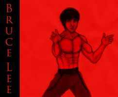 Bruce Lee by girlngreen7
