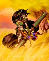 Darla Sabana Sunset by scificat
