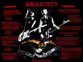 Green Day wallpaper_American Eulogy_Lyrics by Red5Chu