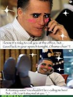 Obama x Romney by XxBlack-WhitexX