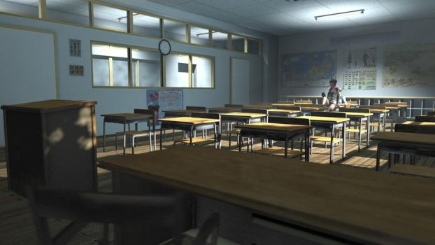 Barbell's Japanese Classroom by 13alan13