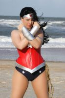 Wonder woman cosplay - New 52 by HoodedWoman