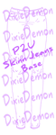 Skinny Jeans Base/ Template [p2u] by DixieDemon1