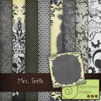 Mrs.Smith-paper street designs by paperstreetdesigns