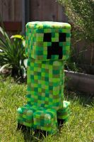 Minecraft Creeper Plush by arixystix