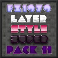 Super pack layer style 11 by FZ1979