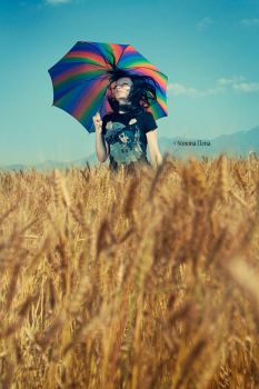 Baby, it didn't rain today... by Dina-bv