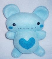Berry Blue Bear-y by StitchyGirl