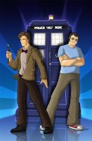 Dr. Who ComicCover by Lizkay