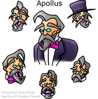Apollus: Character study by Okida