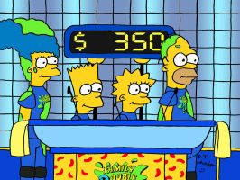The Simpsons on Double Dare Revisited by DJgames