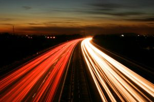 M3 Motorway Traffic Trails - 3 by fruitycube