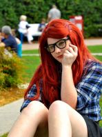 Hipster Ariel at Disney by The-Rejected-Spork