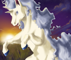 Shiny Rapidash by Jiayi