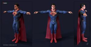Superman Henry Cavill by patokali
