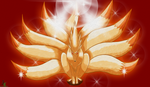Ninetales Colored by JamalC157