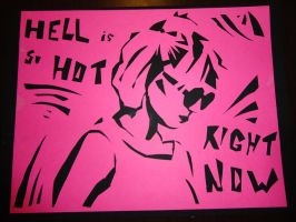 Glee: Hell is so hot right now by CrissCross-d