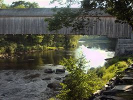 Covered bridge by ssg-McGary