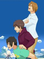 Smosh vs Pewdiepie - Piggyback Ride by Tokiiolicious