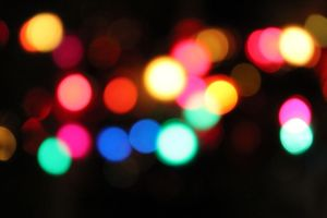 Christmas Bokeh by MoPotter
