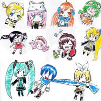 vocaloid chibiss by tuch-nin