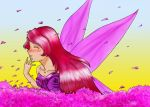 Let me be your violet wings by Monkeymaniac